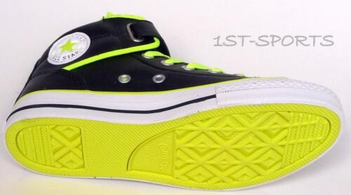 BOYS SHOES CT PC LOOPBACK LEATHER UK 11.5 to 2.5 BLACK TRAINERS CONVERSE KIDS