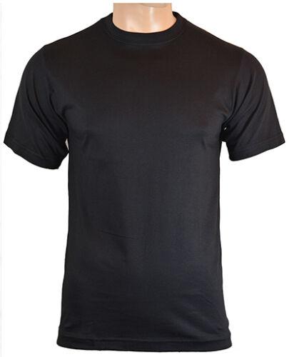Noir 100/% Coton Armée Militaire Haut Nouveau US Style BDU T-Shirt