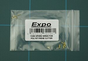 Expo 74363 - 5 Spare Wires For use with Expo 74362 Polystyrene/Foam Cutter 1stPo
