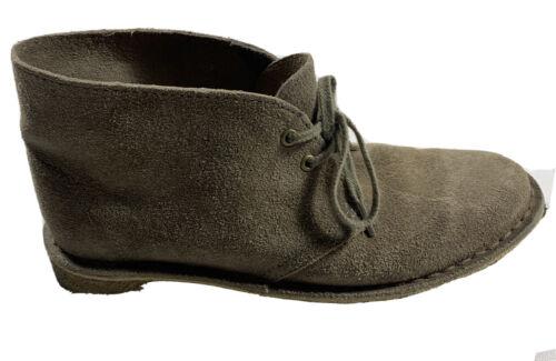 Clarks Originals Desert Boot Sz 7.5 Tan Suede Lace