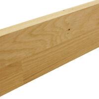 Solid Oak Wood Worktop Upstand 3M X 80mm X 18mm