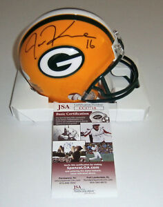 PACKERS-Jake-Kumerow-signed-mini-helmet-JSA-COA-AUTO-Autographed-UW-Whitewater
