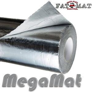 25 sq.ft FATMAT MEGAMAT SILVER Ultimate Car/Van Sound Deadening Heat Ins Dynamat