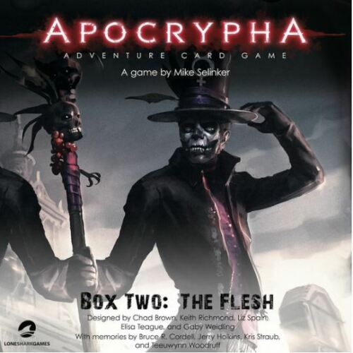 Apocrypha Adventure Card Game-La chair Expansion