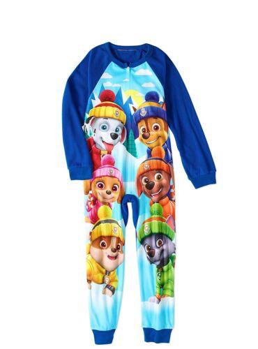 Nickelodeon Paw Patrol Long Sleeve Sleeper Blanket Pajama Boy Size 6//7