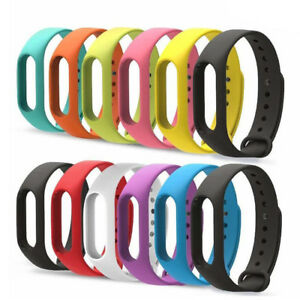 12PCS-Silicon-Wrist-Strap-WristBand-Bracelet-Replacement-For-XIAOMI-MI-Band-2