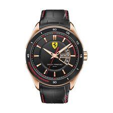 Ferrari Scuderia Gran Premio | 0830185 | Men's Analog Watch | Black & Rose Gold