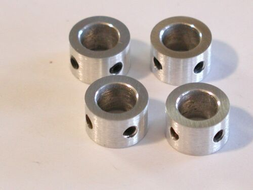 ESG SHAFT COLLAR FOR 8mm SHAFT 4 pieces USA 6061 ALUMINUM *have these in days!*