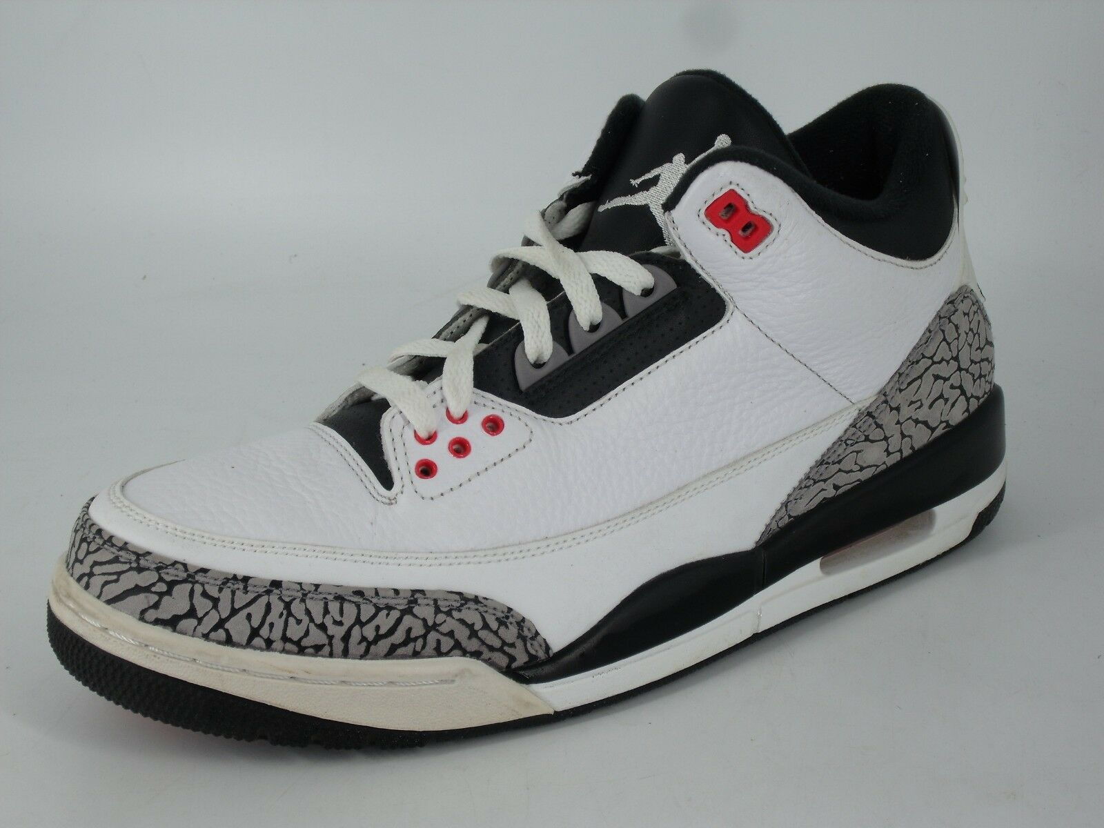 JORDAN 3 RETRO  INFRArojo AIR 23  Alta Top's Talla NH092 mm 01