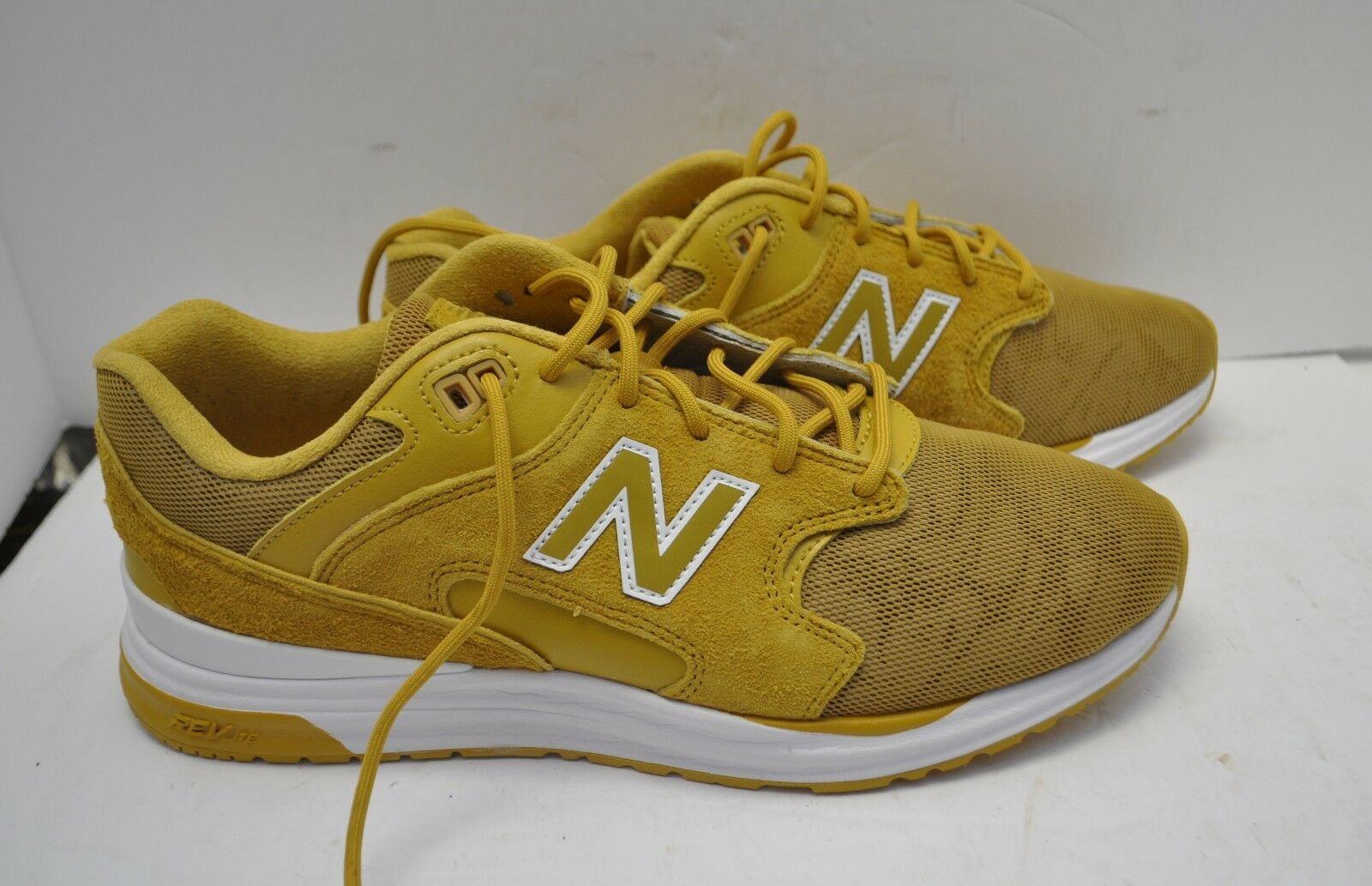 New New New Balance 1550 Mens Running REVlite Reflective ML1550KQ Yellow Core White 110 ba6af6