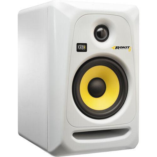 KRK ROKIT 6 G3 - 73W 73W 73W 6  Dos Vías Monitor De Estudio Activo (Single, blancoo) a525d6