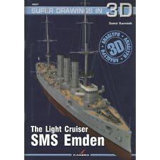 Kagero Super Drawings in 3D 37: The Light Cruiser SMS Emden