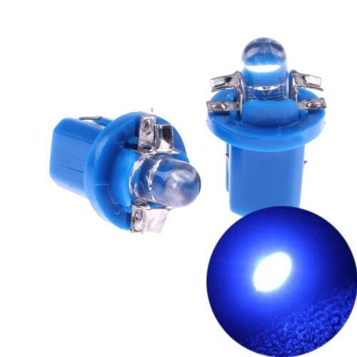 10pcs T5 B8.5D 5050 SMD LED Car Auto Instrument Dashboard Light Bulbs Universal