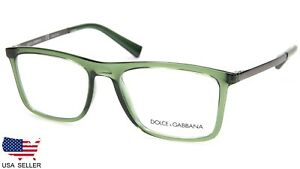 40c019028c0d NEW D G Dolce   Gabbana DG 5023 3068 TRANSPARENT GREEN EYEGLASSES 54 ...