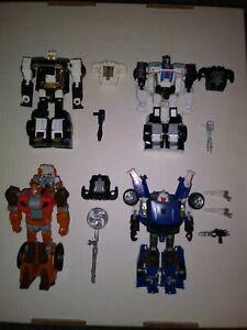 Transformers Power of the Primes lot Jazz Ricochet Wrek Gar Tracks loose comp