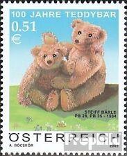 Österreich 2385 (kompl.Ausg.) postfrisch 2002 100 Jahre Teddybär