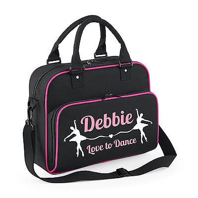Personalised Ballerina Ballet Dance Kids Shoulder Bag