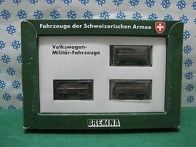 Volkswagen T1-t2 Forze Militari Svizzere - 1/87 Brekina Automodelle