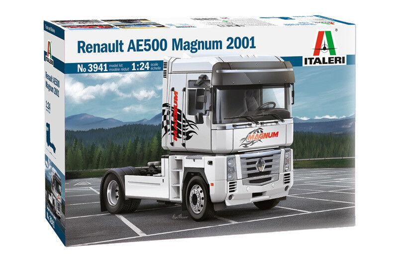 Italeri 1 24 3941  Camión Renault AE500 Magnum 2001