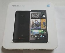 Used HTC ONE M7 Smartphone Mobile Phone 32GB (AT&T) Black
