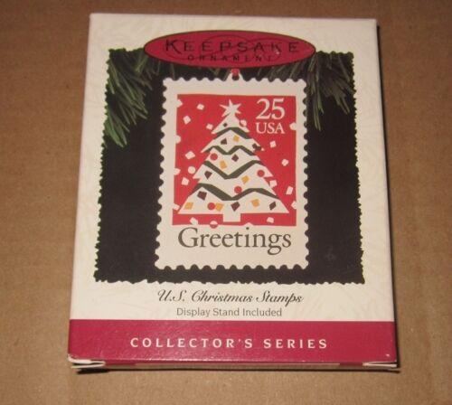 HALLMARK KEEPSAKE ORNAMENT ~ CHRISTMAS STAMPS SERIES ~ GREETINGS ~ 1995 *NEW