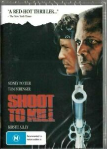 Shoot-To-Kill-DVD-Sidney-Poitier-New-and-Sealed-Australian-Release