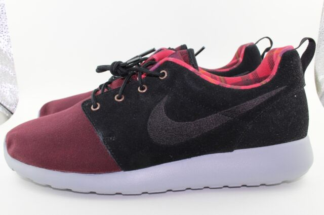 nike roshe run maroon for sale