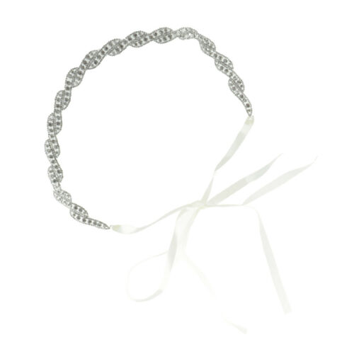 Strass Hochzeit Gürtel Schärpe Silber Diamant Kristall Brautgürtel für