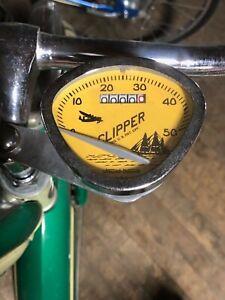 Stewart-Warner-bicycle-Speedometer-26-Inch-bike-Schwinn-turnkey-FIRST-QUALITY