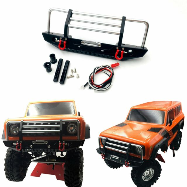 Upgrade KYX 1/10 RC Crawler Metal Front Bumper for Redcat Racing GEN8 Scout II