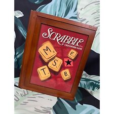 Item 4 Scrabble Parker Brothers Game Vintage Wood Board Box Collection Hasbro 2005