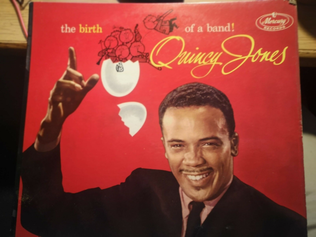 LP, Quincy Jones, The Birth of a Band, Jazz, VG- mange…