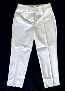 NWT-Ann-Taylor-Loft-Women-s-White-Riviera-Straight-Crop-Pants-Size-2-26