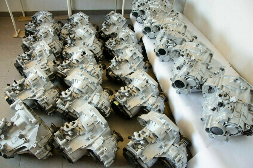 Gearkasse VW SHARAN FORD GALAXY 1.9 TDi FPE
