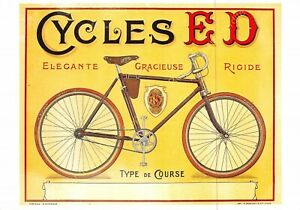 CP Postcard Poster Advertising Cycles a. S. E. a. N. D. Edit Clouet 10503