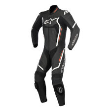 Alpinestars Motegi V2 Track day Black Leather 1PC one Piece Motorcycle Suit