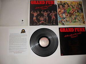 Grand-Funk-All-the-Girls-Beware-1A-1A-039-74-1st-VG-Analog-Press-Ultrasonic-CLEAN