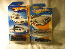 "A-TEAM VAN ""GHOSTBUSTERS ECTO-1"" KNIGHT RIDER ""DELOREAN~BACK to the FUTURE""! F16"