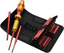 Wera Herramientas Vde 1000 V ajustable atornillador 1.2 Nm & Gt 3.0 Nm con Blade Set