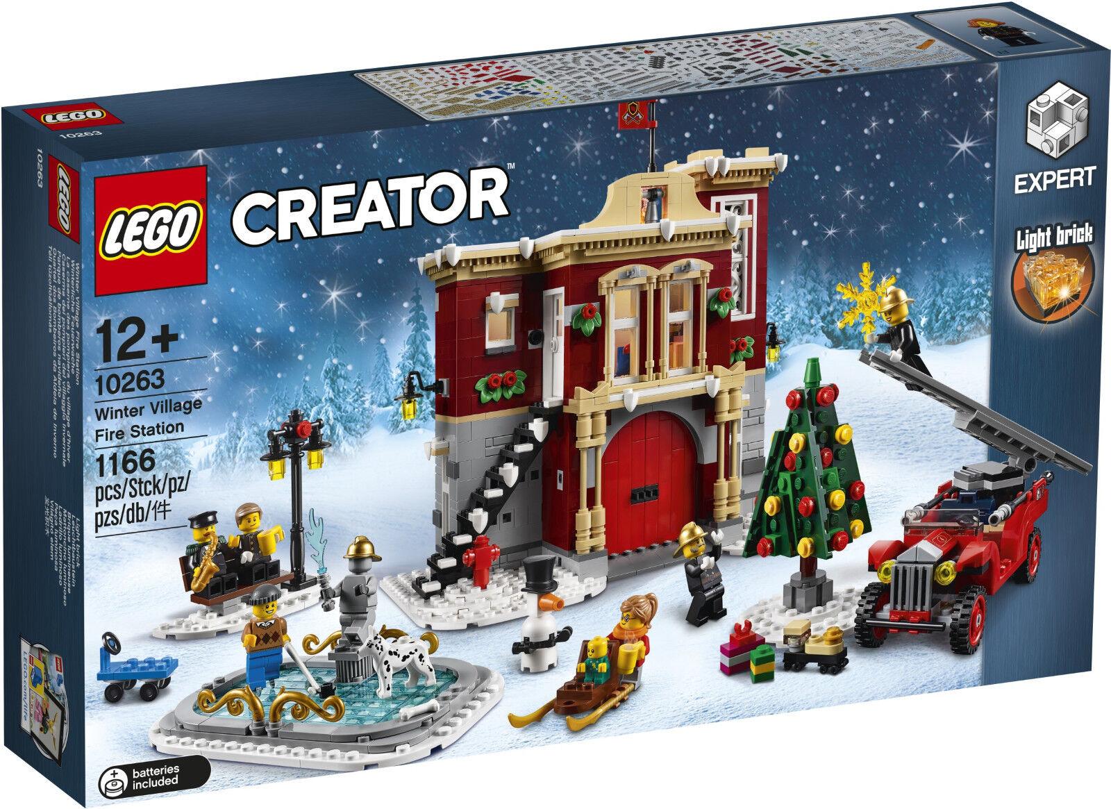 LEGO Creator - 10263 innevato POMPIERI-in esclusiva/Exclusive-NUOVO & OVP