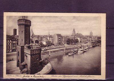 europa:11355 leystapel- ZuverläSsig Gelaufene Ansichtskarte Köln