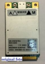Dell HSDPA/UMTS/WWAN Karte 5520(Ericsson) passt zu Latitude XPS Precision Inspir