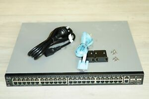 Cisco-SG500-52P-K9-500-Series-Stackable-Managed-Network-Switch-L3-PoE-EOL