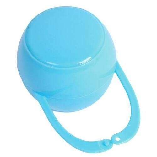 Baby Boy Girl Infant Pacifier Nipple Cradle Case Holder Storage Soother Box CB