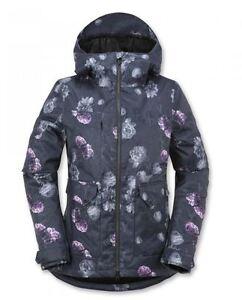 2016 Nwt Womens Volcom Era Insulated Snowboard Jacket 200
