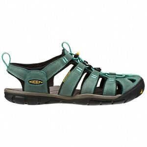 Keen Clearwater CNX Leather Damen Sandalen Damen grün Outdoor Trekking Schuhe