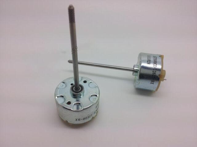 1pc Ball bearing 4500RPM Mini Small Motor Long Shaft DC12V DC Motor for Toys Car