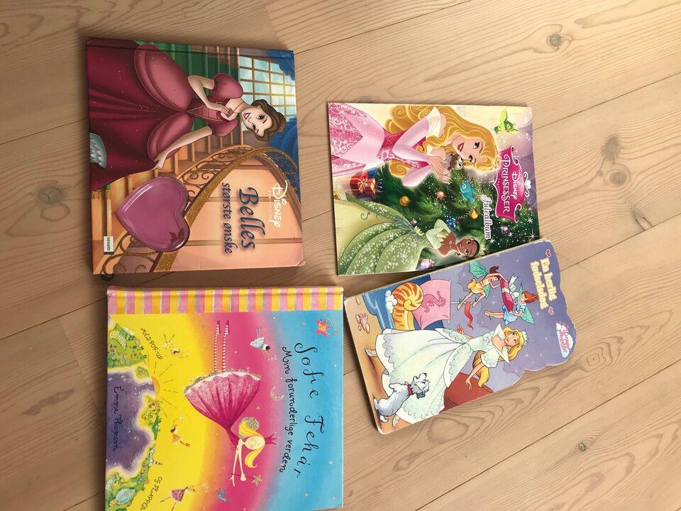 Blandet legetøj, Taske bøger billede mv, Disney mm