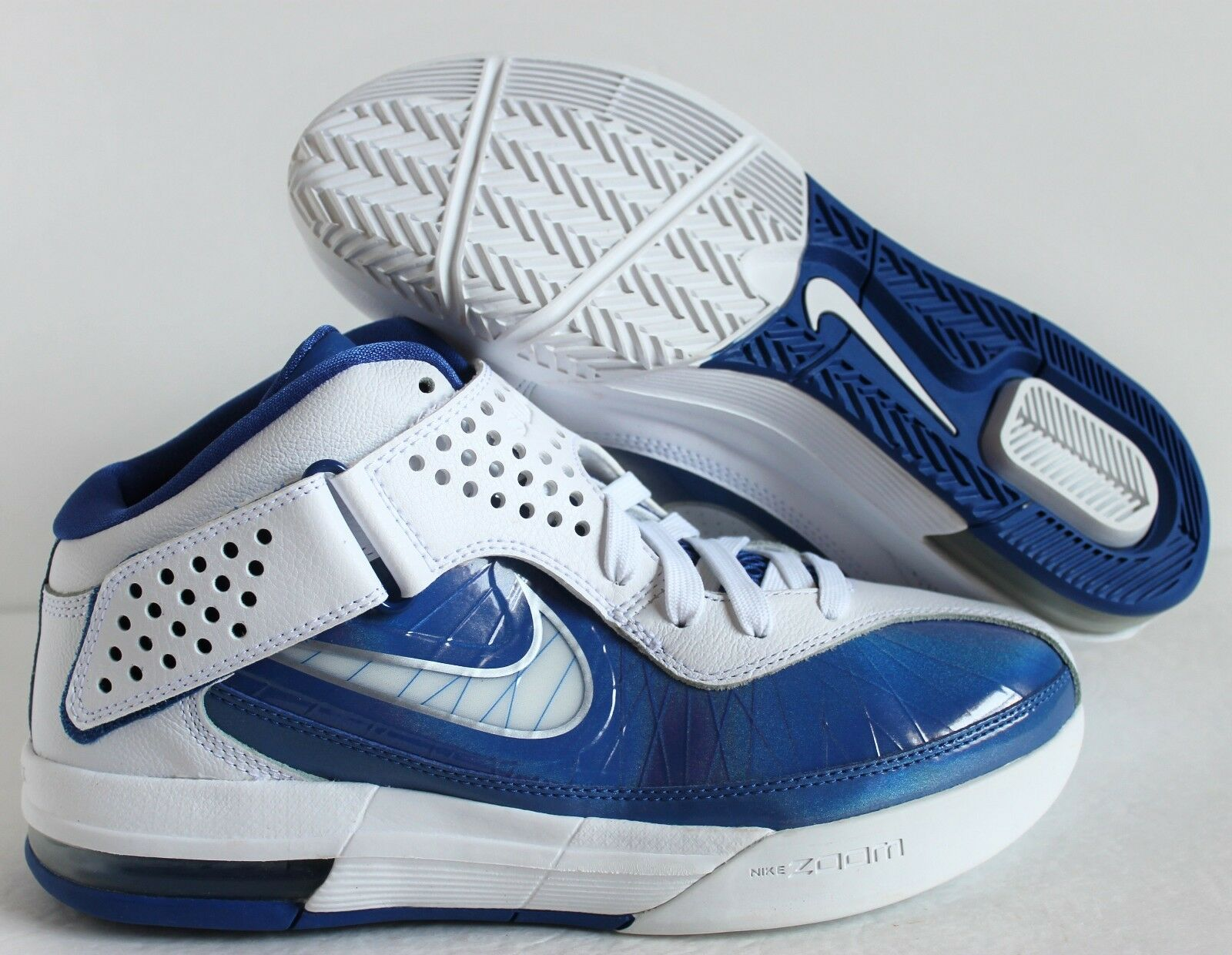 NIKE AIR MAX SOLDIER V TB WHITE-VARSITY ROYAL Price reduction New shoes for men and women, limited time discount