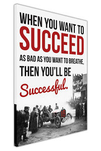 SUCCEED-QUOTE-LOCOMOBILE-CANVAS-WALL-ART-PICTURE-HOME-DECORATION-BLACK-AND-WHITE